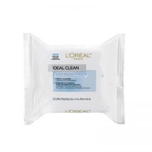 L'Oreal Paris Ideal Clean Makeup Removing Towelettes  (25 wipes)