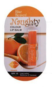 Blue Heaven Naughty Color Lip Balm (Orange)