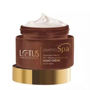 Lotus Professional dermoSpa Japanese Sakura Skin Whitening & Nourishing Night Creme