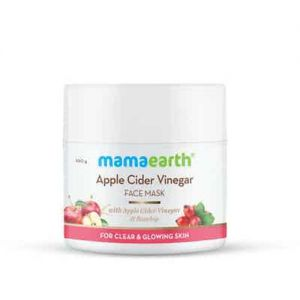 Mamaearth Apple Cider Vinegar Face Mask With Apple Cider Vinegar & Rosehip For Clear & Glowing Skin