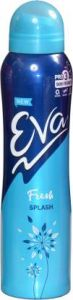EVA Fresh Splash Deodorant Spray 125ml Deodorant Spray
