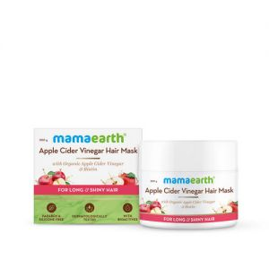 Mamaearth Apple Cider Vinegar Hair Mask With Organic Apple Cider Vinegar & Biotin For Hair Growth