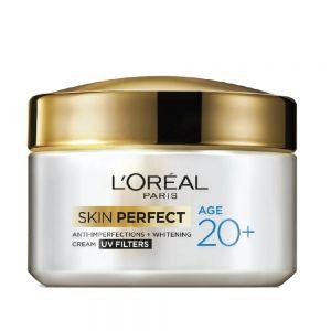 L'Oreal Paris Age 20+ Skin Perfect Cream UV Filters