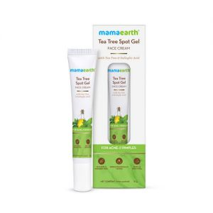 Mamaearth Tea Tree Spot Gel Face Cream With Tea Tree & Salicylic Acid For Acne & Pimples