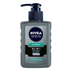 NIVEA MEN 10 Multi Effect All In 1 Oil Control Face Wash