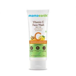 Mamaearth Vitamin C Face Wash With Vitamin C And Turmeric For Skin Illumination - pack of 2