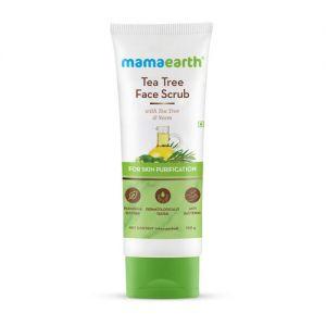 Mamaearth Tea Tree Face Scrub With Tea Tree And Neem For Skin Purification