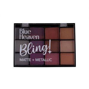 Blue Heaven 12-in-1 Bling Eyeshadow Palette - Cocktail Fever - (pack of 2)