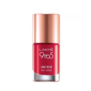lakme 9to5 long wear nail color