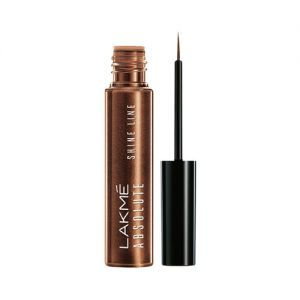 Lakme Absolute Shine Line Eye Liner - Shimmer Bronze