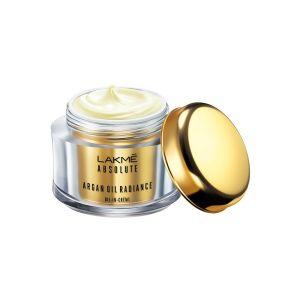 lakme absolute argan oil radiance oil-in-cream