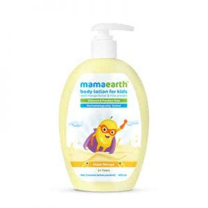 Mamaearth Major Mango Body Lotion For Kids with Mango Butter & Milk Protein