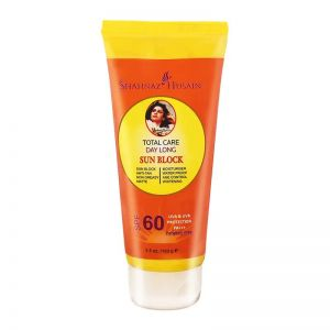 Shahnaz Husain Total Care Day Long Sun Block UVA & UVB Protection PA+++SPF 60