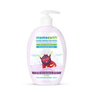 Mamaearth Brave Blueberry Body Lotion For Kids with Blueberry and Kokum Butter