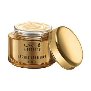lakme absolute argan oil radiance oil-in-gel
