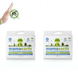 Mamaearth Natural Repellent Mosquito Patches for babies with 12 hour protection - pack of 2