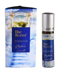 Blue Heaven Roll On Perfume - Ithar (Firdous)