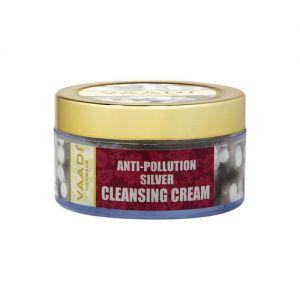 Vaadi Herbals Anti Pollution Silver Cleansing Cream - pack of 2