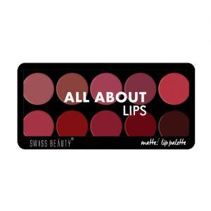 Swiss Beauty All About Lips Palette - 01