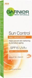 Garnier Skin Naturals Sun Control SPF 15 Daily Moisturiser