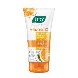 Joy Revivify Vitamin C Face Wash with Mandarin Vitamin B5 & E - Pack of 2
