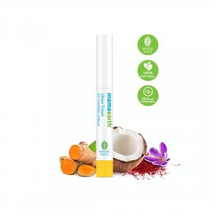 Mamaearth Ubtan Tinted 100% Natural Lip Balm with Turmeric & Saffron