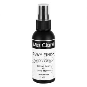 Miss Claire Fixing Spray For Makeup Dewy Finish - 02