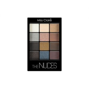 Miss Claire 12 Eyeshadow Kit - The Nudes