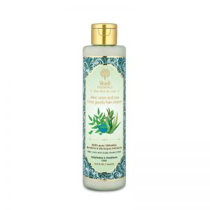 Khadi Essentials Aloe Vera, Neem & Tea Tree Hair Cleanser with Fenugreek for Fall Control & Growth