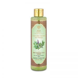 Khadi Essentials Neem, Tulsi & Tea Tree Face Wash with Green Tea for Acne, Blemishes & Pigmentation