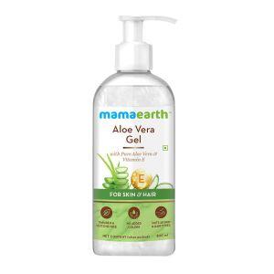 Mamaearth Aloe Vera Gel With Vitamin E For Skin and Hair