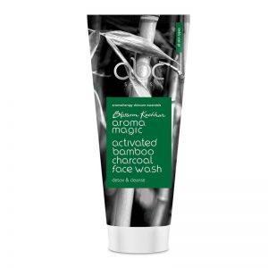 Aroma Magic Activated Bamboo Charcoal Face Wash