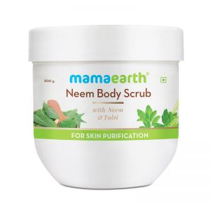 Mamaearth Neem Body Scrub with Neem & Tulsi for Skin Purification