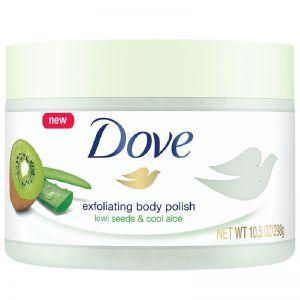 Dove Exfoliating Kiwi Seeds and Cool Aloe Body Polish