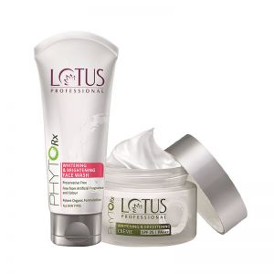 Lotus Professional Phyto-Rx Whitening & Brightening Crème & Face Wash Combo