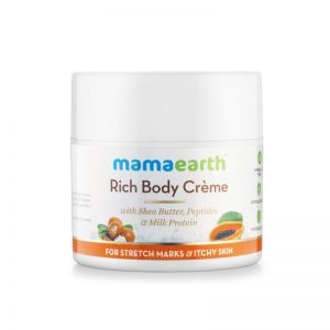 Mamaearth Rich Body Creme For Stretch Marks & Itchy Skin