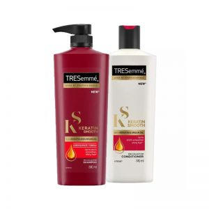 Tresemme Keratin Smooth With Argan Oil Shampoo + Conditioner Combo