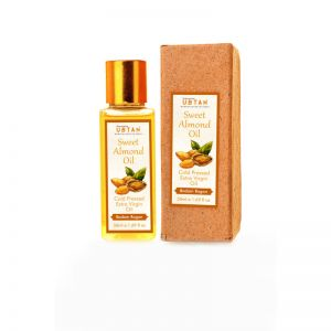 Rejuvenating UBTAN Cold Pressed Extra Virgin Sweet Almond Oil