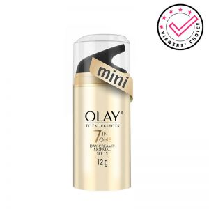 Olay Day Cream: Total Effects 7 in 1, Anti Ageing Mini Moisturiser (SPF 15)