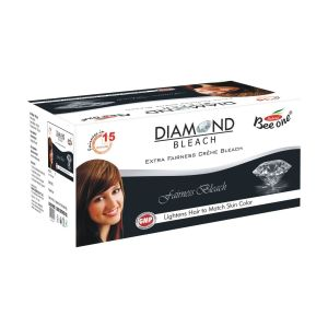 Beeone Diamond Facial Creme Bleach 500 Gms