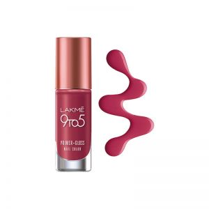 Lakme 9 To 5 Primer + Gloss Nail Color