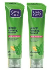 Clean & Clear Pimple Clearing Face Wash-(pack of 2)