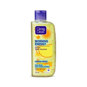 Clean & Clear Morning Energy Lemon Fresh Face Wash-(pack of 2)