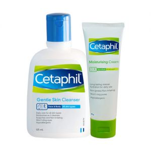 Cetaphil Gentle Cleansing & Moisturizing Combo