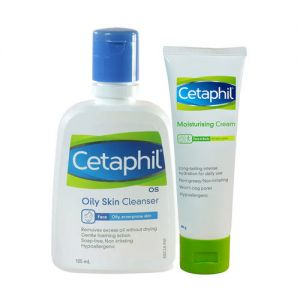 Cetaphil Oil Skin Cleansing & Moisturizing Combo