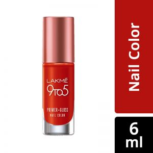Lakme 9 To 5 Primer + Gloss Nail Colour