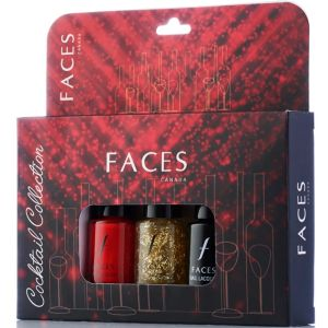 Faces Canada Nail lacquer Kit - Cocktail Collection