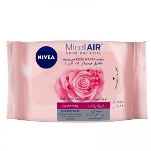 NIVEA Micellar Cleansing Wipes - Skin Breathe Rose MicellAIR