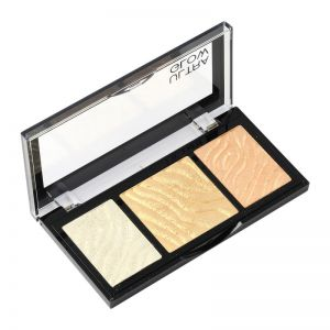 Swiss Beauty Ultra Glow Highlight And Bronzer Palette - 1