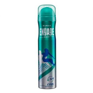 Engage Sport Cool Deodorant For Women, Citrus & Spicy, Skin Friendly